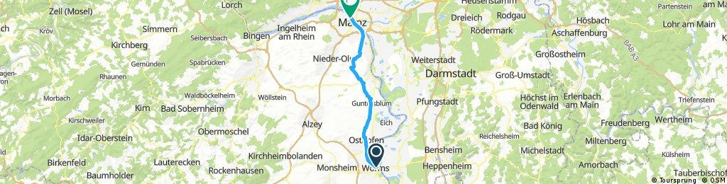 12/09 WORM/MAINZ 54.1 KM