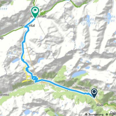 Day 33 Gotthardpass 2,106m