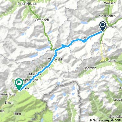Day 34 Furka Pass 2,429m