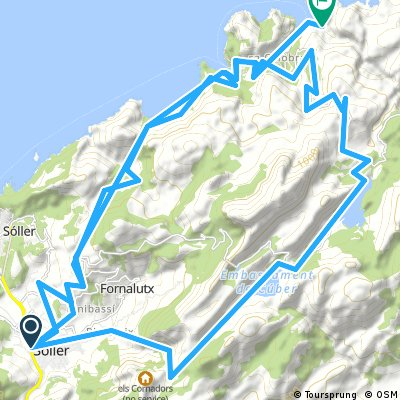 ride with gps soller Baltix cala Cuber
