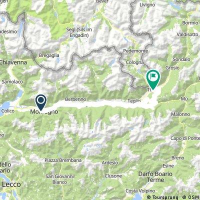 Valtellina giorno 2 - Aprica - monte croce - tirano