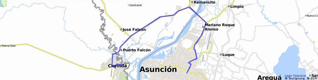 Asunción (Py) - Clorinda(Arg.) (Ale- Muri)