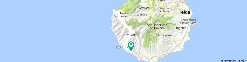 Gran Canaria Playa de San Nicolás 93km./2310vm.