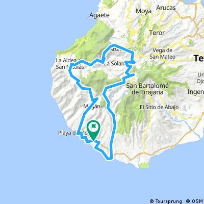 Gran Canaria Moriscos 137km./3450vm.