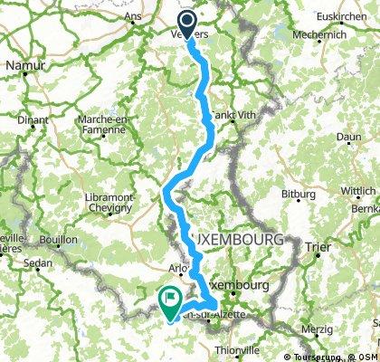 Stage 3  »  Verviers  ›  Longwy   (202k)