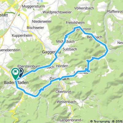 Bad Gasgenau Bad Herrenalb 50 1040hm