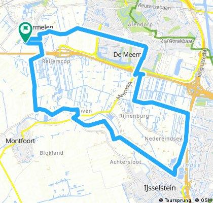 bike tour through Harmelen