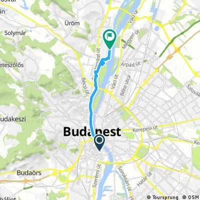 bike tour from Budapest XI. kerület to Будапешт