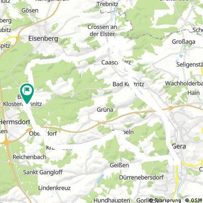 BadK-Gera Elsterradweg-Hartmannsdorf-Mühltahl