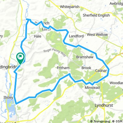 Godshill to Godshill via Cadnam
