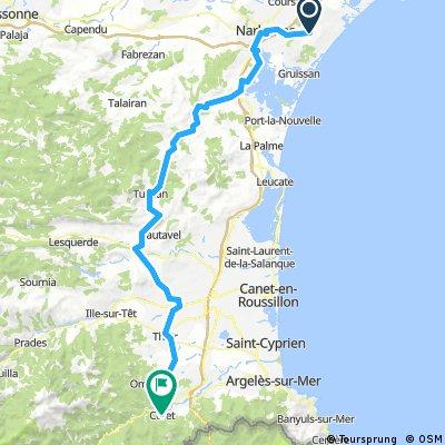 5 Etappe Narbonne-Ceret