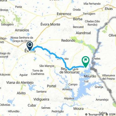 évora-monsaraz_bikemap