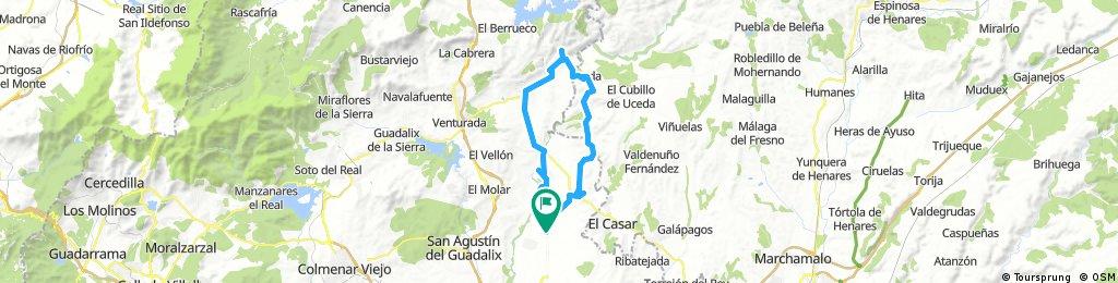 Valdetorres - Uceda - Patones de Arriba - Valdetorres
