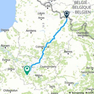 (2) Final Maubeuge - St Maurice, 289km, 930HM