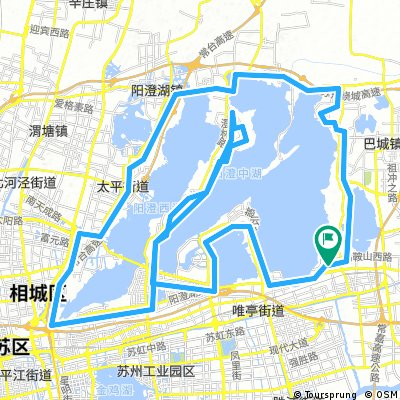 YangCheng Lake Loop