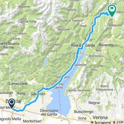 Brescia - Trento