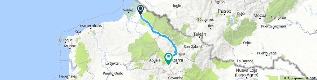 Retour dans les Andes