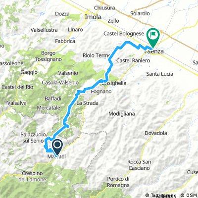Marradi in treno- Faenza 505