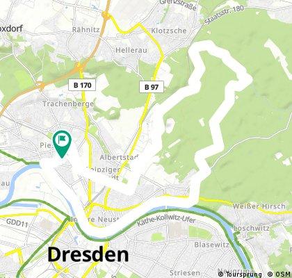 Entspannte Tour durch die Dresdner Heide