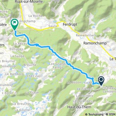 Tour de France Route part 2