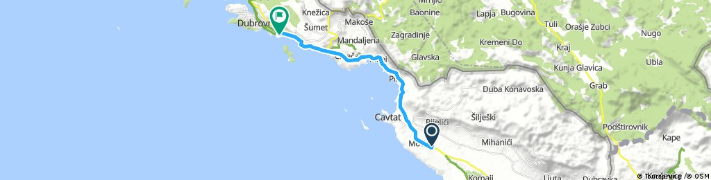 1. Tag Flughafen-Dubrovnik