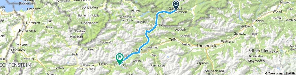Garmisch - Landeck