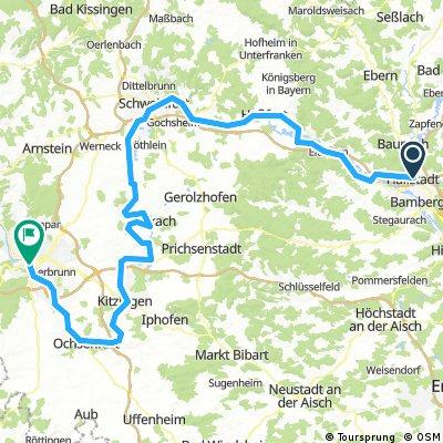 Bamberg - Würzburg 15.08.-19.08.2017
