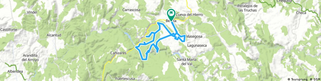 Ruta pascua en Beteta (Cuenca)