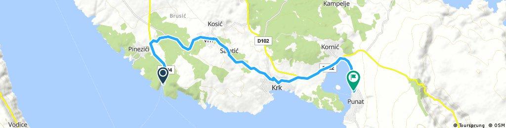6. Tag Teil 2  Krk- Valbiska - Marina Punat
