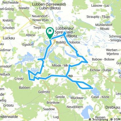 Mutterkirchen Rundtour / Schloss Beuchow