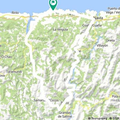 Tapia-Vegadeo-Garganta-Oscos-Pesoz-Boal-Navia-Tapia