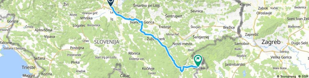 36. Kolesarski izlet iz Ljubljane v Metliko 2018