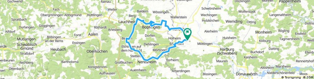 Neresheim - Ipf - Goldberg