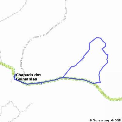 Rio da casca via lagoinha de baixo