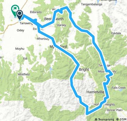 Buckland Valley - West Kiewa loop