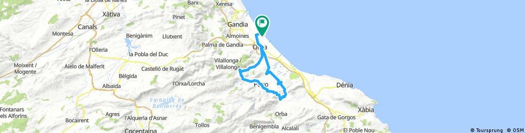Piles Acc viernes 55 km