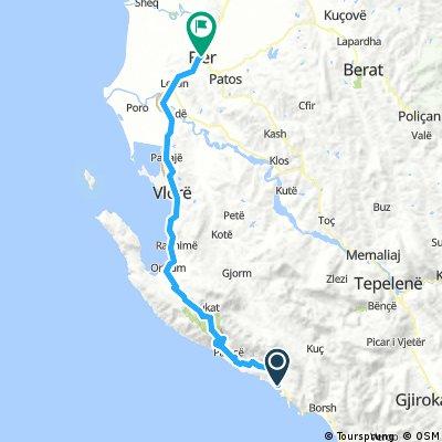 Albanija Marko 3: Himare - Fier