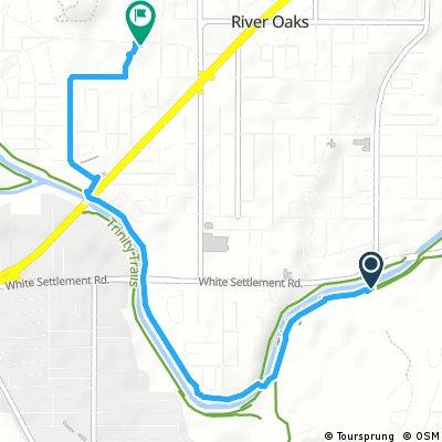 Quick bike tour through River Oaks