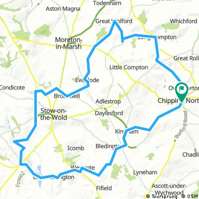 Chipping Norton & the Slaughters (37 miles)