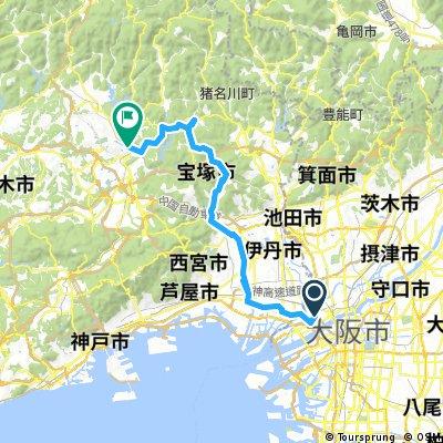 西淀ー武庫川ー宝塚ー三田