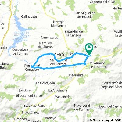 Bonilla de la Sierra - Puente de Congosto - Bonilla de la Sierra