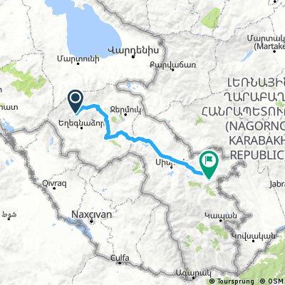 09b - Shatin - za Goris (139 km, 2780 m)