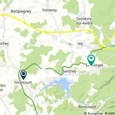 Fort d'Uxegney detour