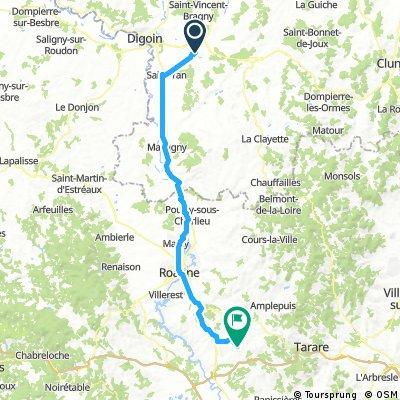 Paray-le-Monial - Saint-Just-la-Pendue