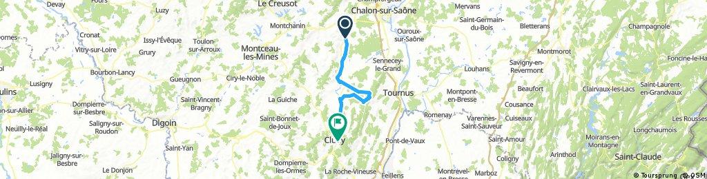 Buxy-Chapaize-Cluny
