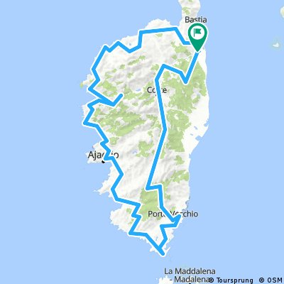 Rundfahrt - Best of Korsika