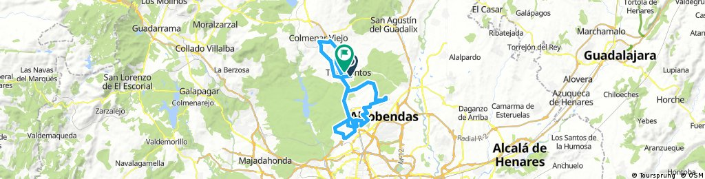 II Parte (Maratón 100 Km Colmenar Viejo)