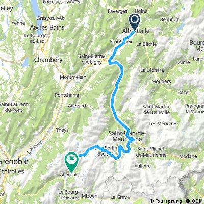 Tour de Alpes 4 etape
