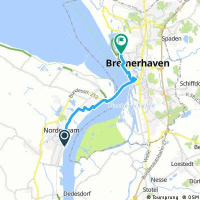 Nordenham - Bremerhaven