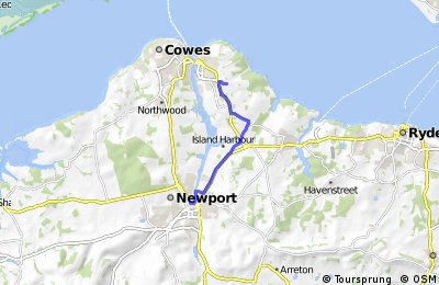 Newport to Osborne House